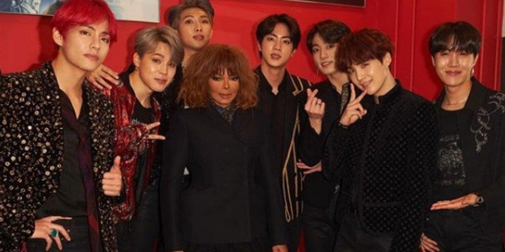 Janet Jackson dan BTS
