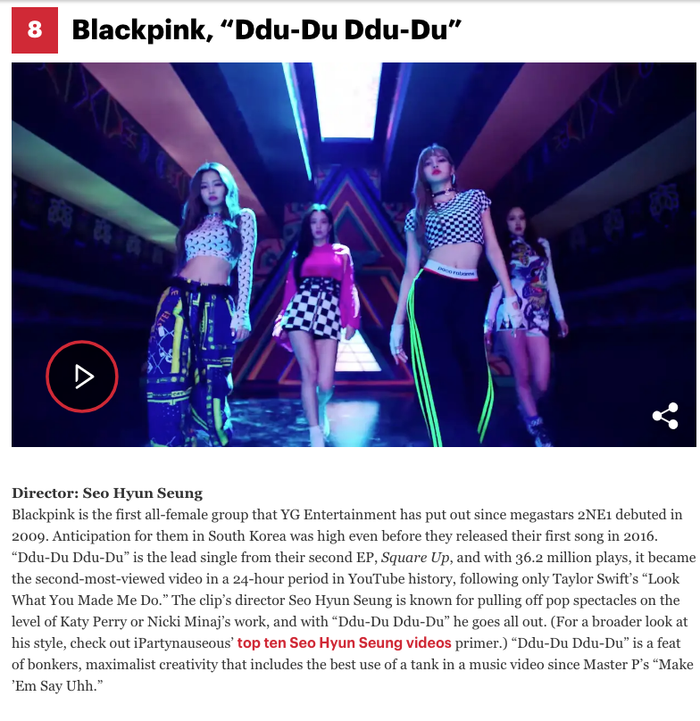 BLACKPINK di Rolling Stone