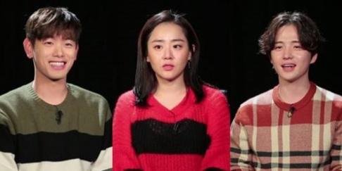 Eric Nam, Kim Hye Sung, Moon Geun Young