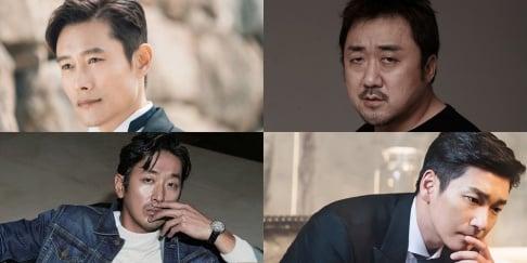 Ha Jung Woo, Jo Seung Woo, Lee Byung Hun, Ma Dong Suk