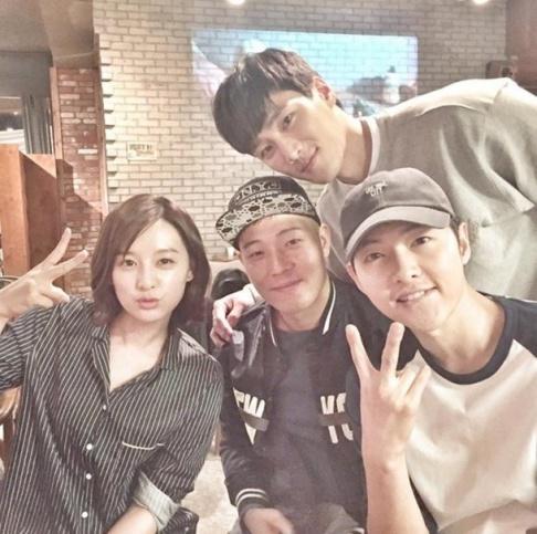 Kim Ji Won, Song Joong Ki