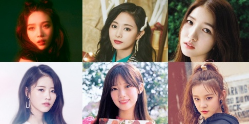GFriend (Girlfriend), Sowon, Umji, (G)I-DLE, Yuqi, Lovelyz, Kei, (Mijoo) Lee Mi Joo, Momoland, Yeonwoo, Oh My Girl, Jiho, Arin, Red Velvet, Joy, Yeri, TWICE, Dahyun, Tzuyu
