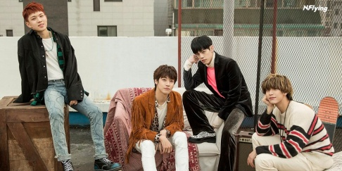 N.Flying, Jaehyun, Seunghyub, Cha Hun, Yoo Hwe Seung