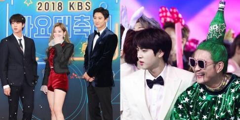 (Bangtan Boys) BTS, Jin, Chanyeol, Norazo, Dahyun