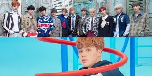 (Bangtan Boys) BTS, Jimin, Wanna One