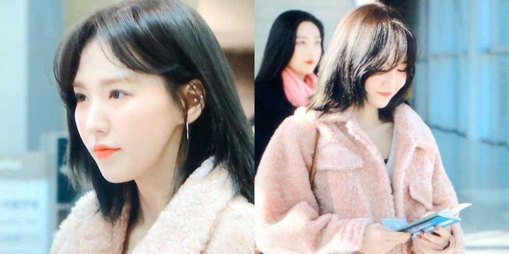 Red Velvet Fans Are In Love With Wendy S New Hair Allkpop