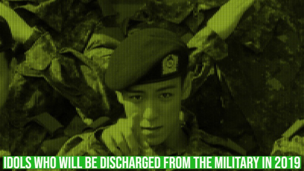 Idols who will be discharged from the military in 2019   allkpop