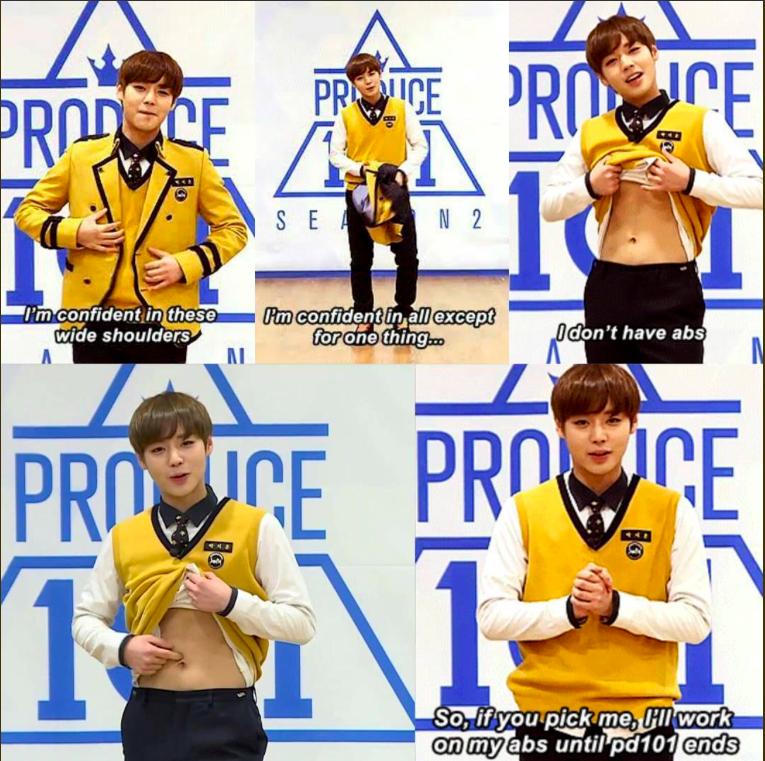 Park Ji Hoon Keeps His 'Produce 101, Season 2' Promise | allkpop