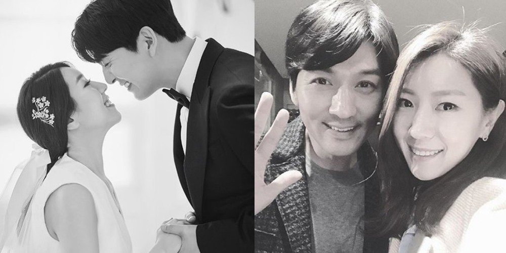 On-screen couple Lee Pil Mo & Seo Soo Yeon of 'Love's Flavor' tying the knot at a private wedding today!