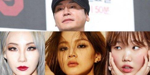 Suhyun, Chanhyuk, Katie Kim, Lee Hi, Yang Hyun Suk, CL