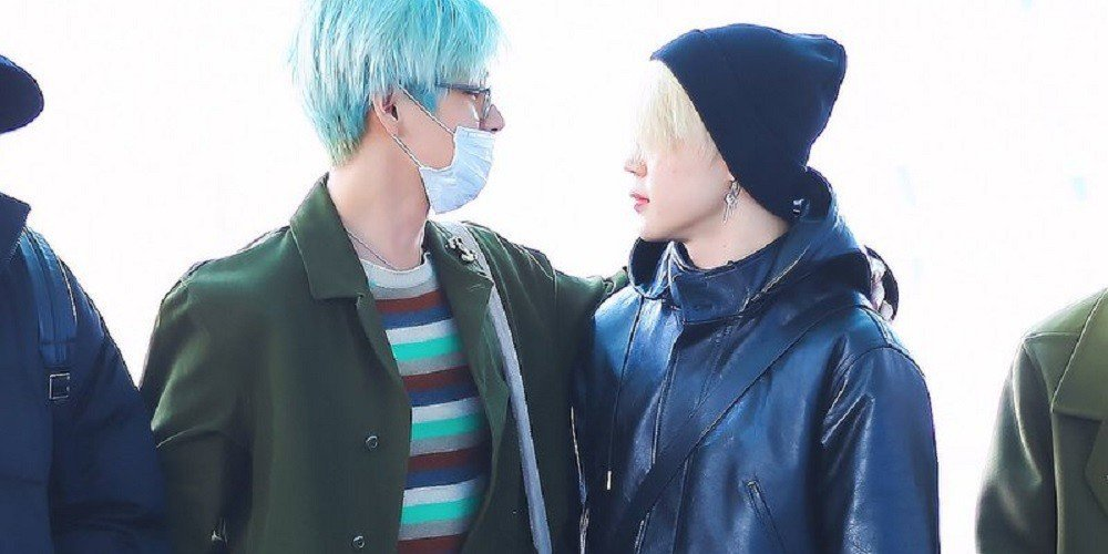 Fans Point Out A Cute Interaction Between Bts Jimin And V Before