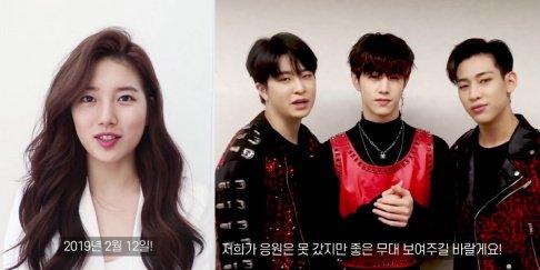 DAY6, GOT7, ITZY, Suzy, TWICE, Yubin, Lim, Park Ji Min, Junho