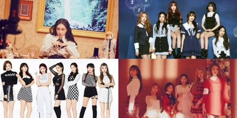 GFriend (Girlfriend), (G)I-DLE, Kim Chung Ha, Momoland