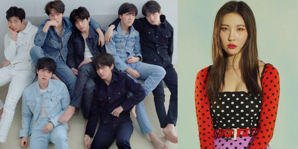 Sunmi coolly admits BTS, not W...