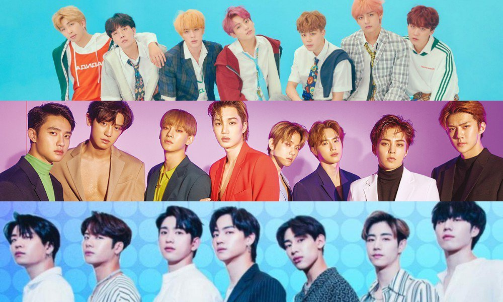 BTS, EXO & GOT7 nominated for Billboard Music Awards 2019