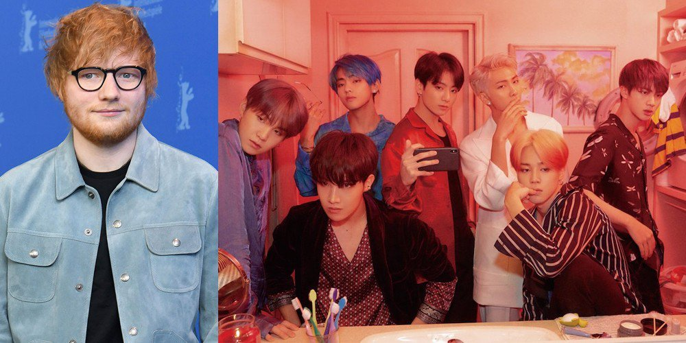 BTS' new album featuring Halsey, Ed Sheeran hits world music scene