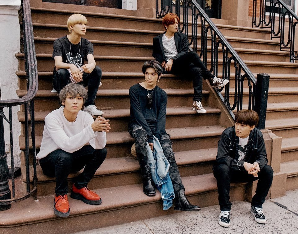Check out NCT 127's photoshoot-like candids from New York