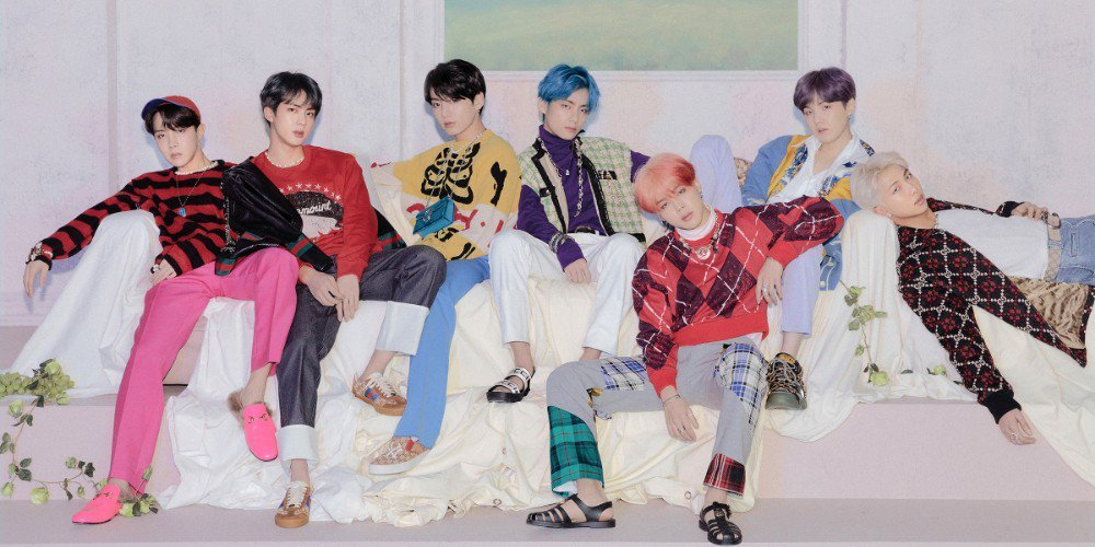 BTS is the first group since The Beatles to set three No.1s on the 'Billboard 200' in less than a year
