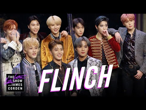 Watch NCT 127 play 'Flinch' and perform 'Superhuman' on 'The Late Late Show with James Corden'! | allkpop