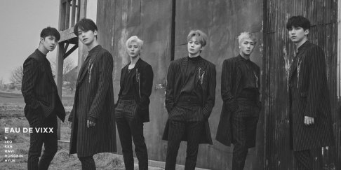 VIXX, N, Ken, Ravi, Hongbin, Hyuk, Leo