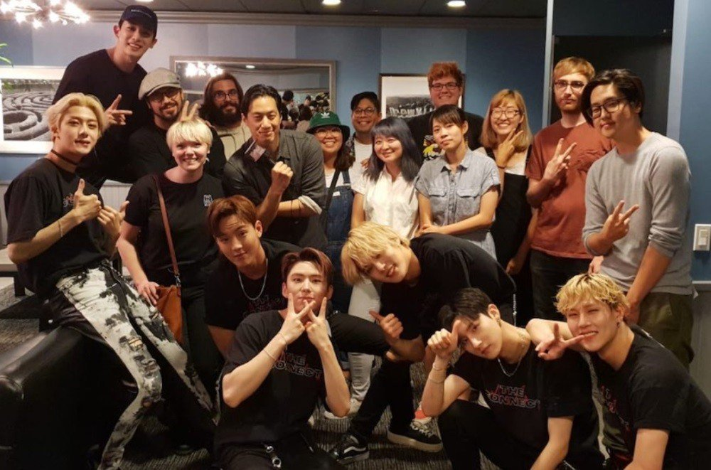 We Bare Bears' creator talks about working with MONSTA X