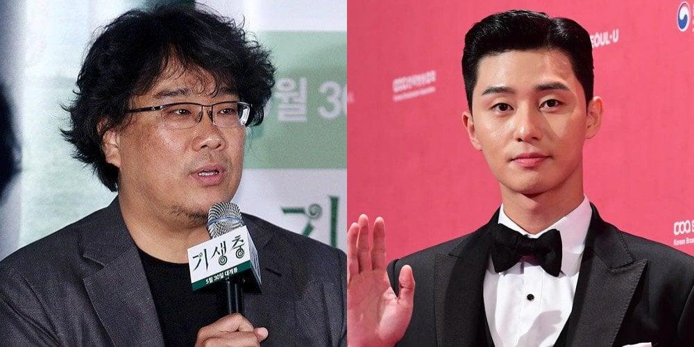 Top film director Bong Joon Ho didn't know Park Seo Joon was popular?