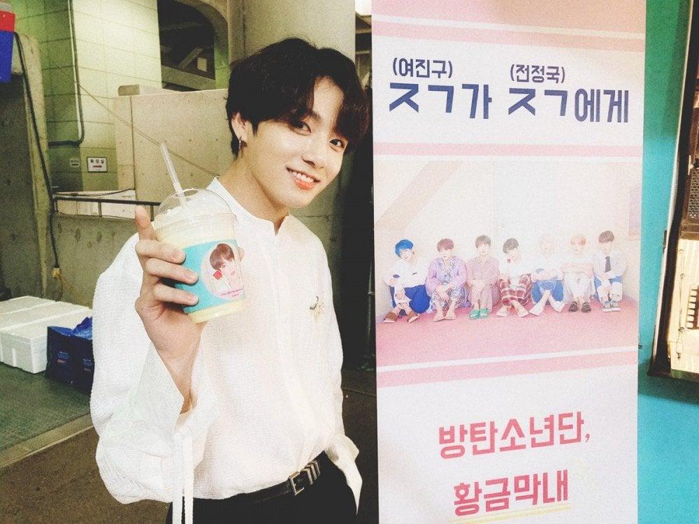 Yeo Jin Goo sends food truck in support of BTS's Jungkook   allkpop