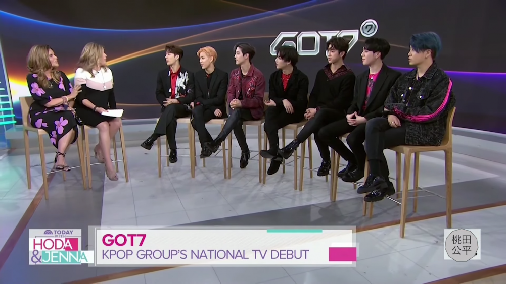 GOT7 appears on the 'TODAY Show' + surprises with English