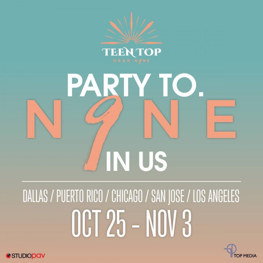 TEEN TOP to return to the US with 'PARTY TO. N9NE' tour | allkpop