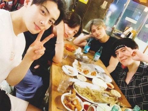 Cha Eun Woo, BTS, Jungkook, Yugyeom, Mingyu