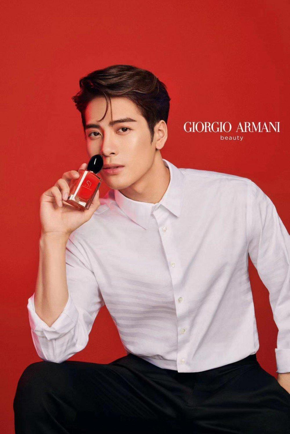 Jackson Wang Got7 Snatches Yet Another Endorsement Newest Face Of Armani Beauty Armanibeauty Allkpop