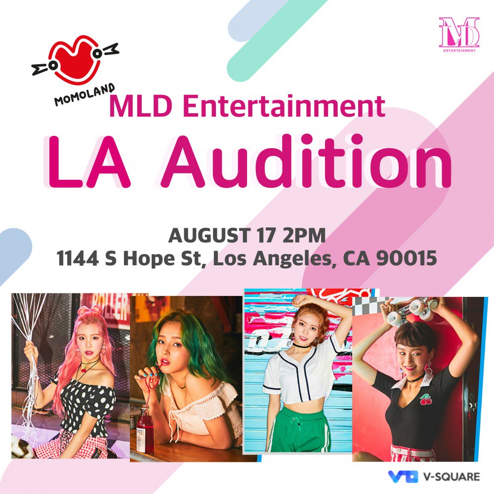 MLD Entertainment to host auditions in LA + could you be