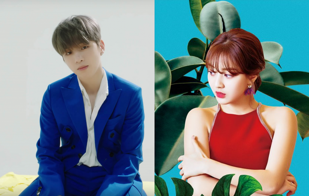 TWICE fans are celebrating Jihyo and Kang Daniel's relationship