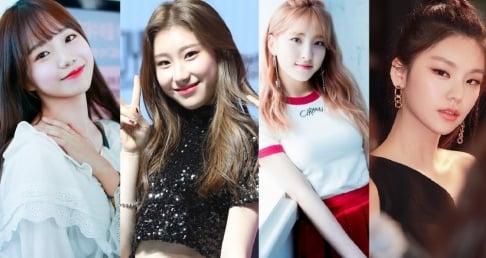 Cosmic Girls, Eunseo, ITZY, Chaeryeong, Yeji, IZ*ONE