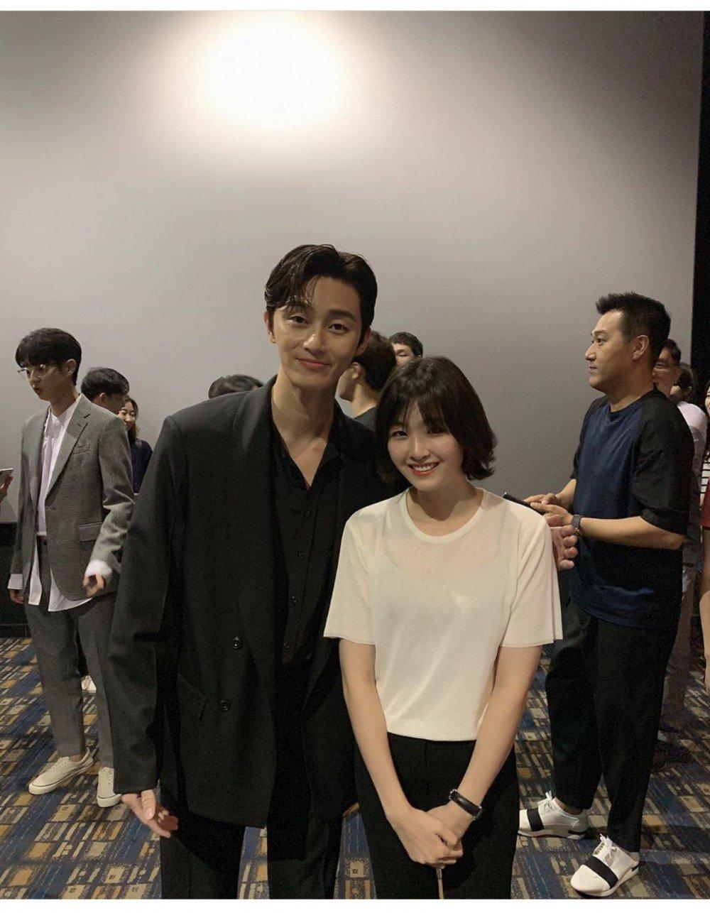 Fan Uploads A Photo With Park Seojoon