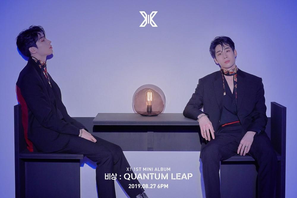 X1 reveals concept photos for Han Seungwoo | allkpop