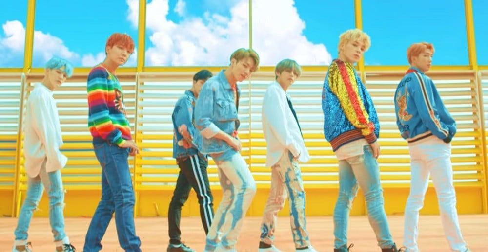 BTS's 'DNA' MV surpasses 800 million views on YouTube | allkpop