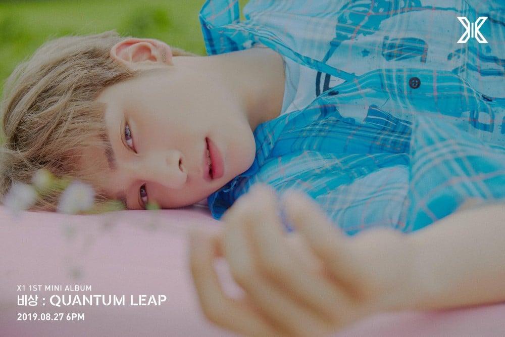 X1 reveals debut concept photos for Lee Han Gyul | allkpop