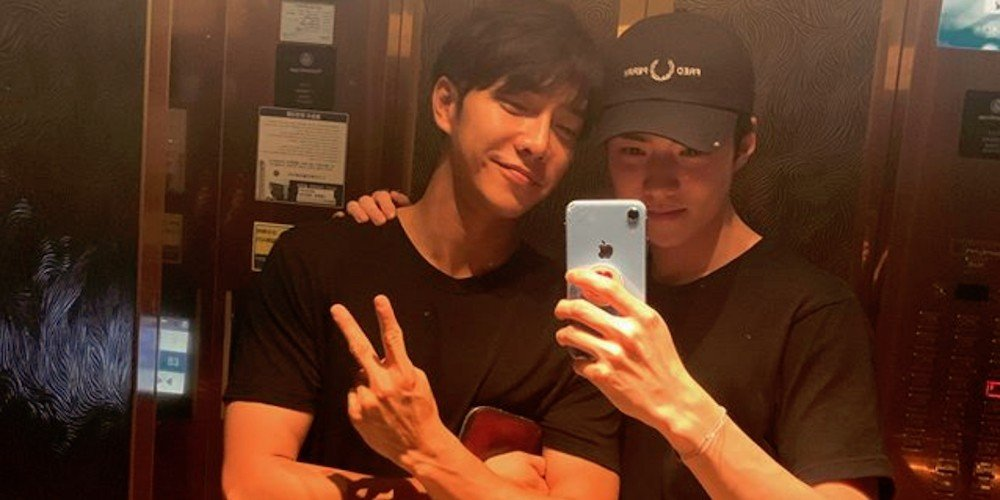EXO's Sehun shares friendly photo with co-star Lee Seung Gi on Instagram | allkpop