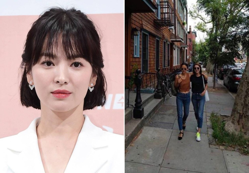 Song Hye Kyo says it's good to see Lee Hyori & Lee Jin of Fin.K.L together again | allkpop