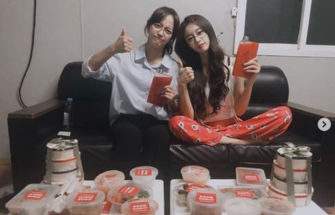 Gugudan, Kim Se Jung, T-ara, Jiyeon