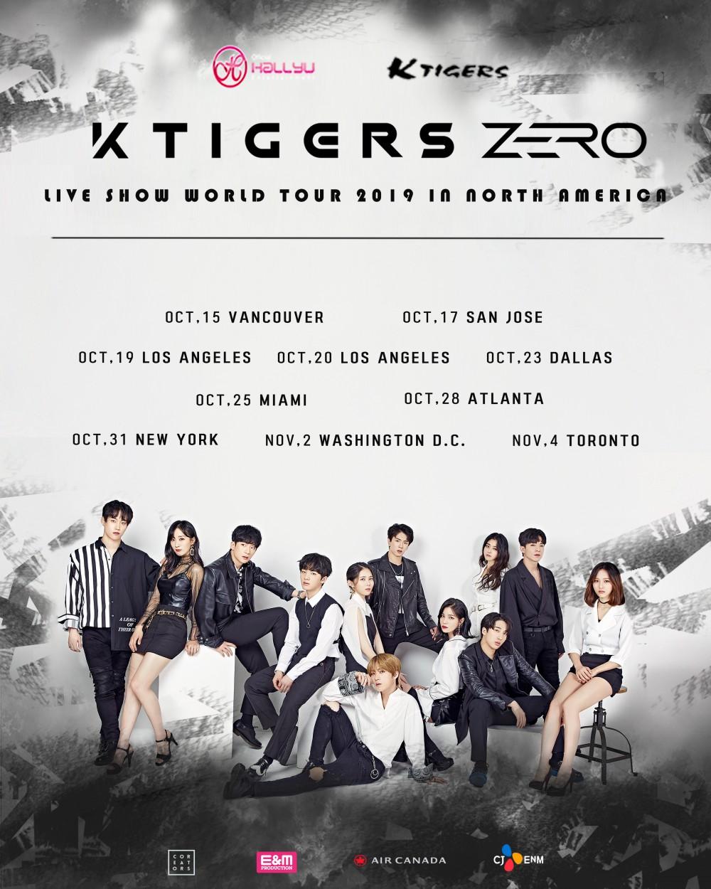 K-TIGERS ZERO is ready to break through into the Korean Wave with their debut world tour   allkpop