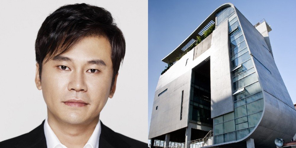 Police conduct search and seizure investigation inside YG Entertainment building | allkpop