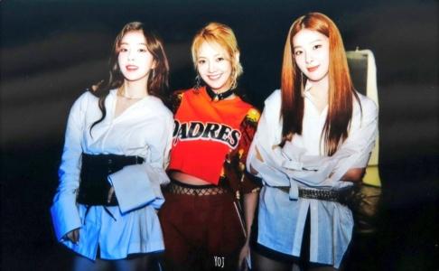 Hyoyeon, Irene, Seulgi