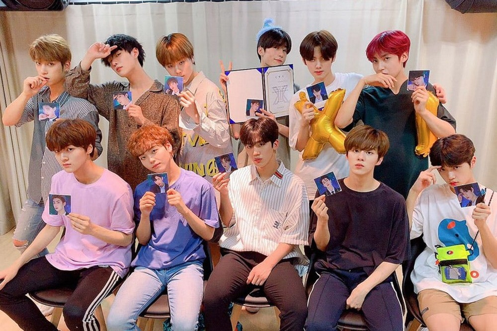 'Produce x 101' project group X1 reveals official fandom name! | allkpop