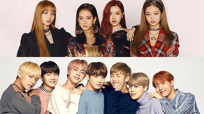 BTS and BLACKPINK nominated for best group at the MTV VMA's | allkpop