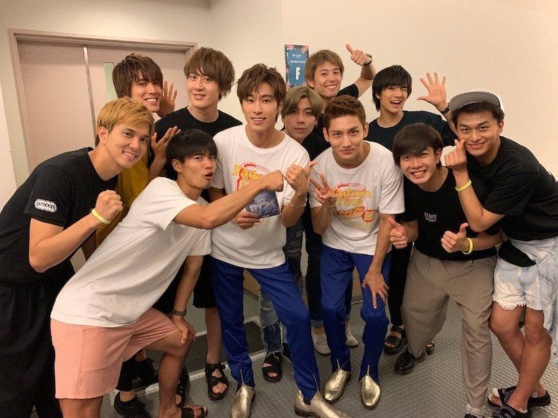 J-POP Group BOYSANDMEN's Masato Cries After Meeting His Idols TVXQ at 'a-nation' Festival | allkpop