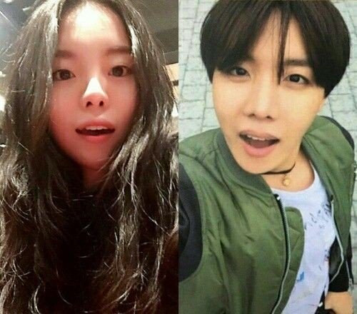 Netizens marvel at how similar J-Hope and his older sister look | allkpop