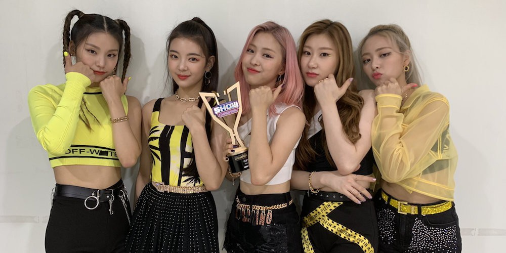 ITZY take home another 1st place win with 'ICY' on this week's 'Show Champion' | allkpop