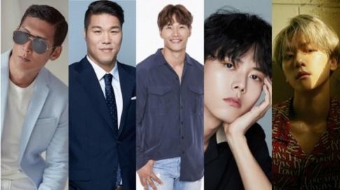 EXO, Baekhyun, Park Joon Hyung, Seo Jang Hoon, Kim Jong Kook